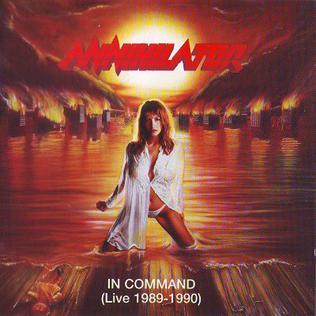 <i>In Command</i> 1996 live album by Annihilator