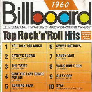 1960 - Billboard Top 100