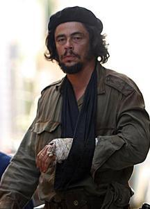 Benicio del Toro in the 2008 biopic Che.