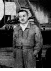 Desmond Dizzy de Villiers British test pilot