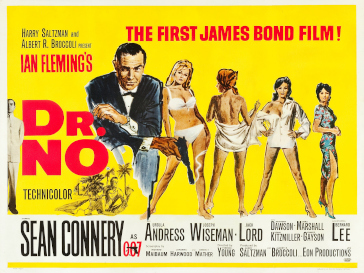 Poster for James Bond film Dr. No