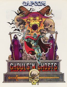 Picture of a game: Ghouls 'n Ghosts