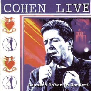 Cohen Live artwork
