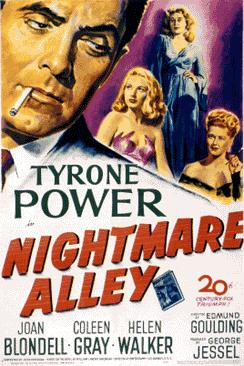 Nightmare Alley (1947) movie poster