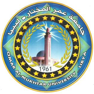 Omar Al-Mukhtar University building in Libya