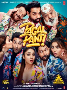 Pagalpanti (2019) Full Movie Online Free Download HD