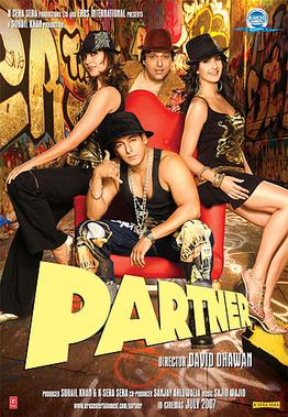 Download Partner 2007 Hindi Movie BluRay 400mb 480p | 720p