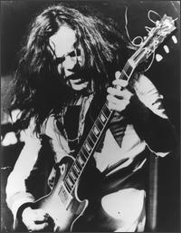 Paul Kossoff performing with Free at Randwick Racecourse, 9 May 1971