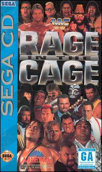 Cover art for WWF Rage in the Cage on Sega CD