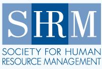 Logo for SHRM, the Society for Human Resource Management