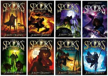 Publication Order of Spook's Stories Books