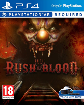 Picture of a game: Until Dawn Rush Of Blood