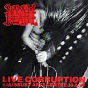 <i>Live Corruption</i> live album by Napalm Death