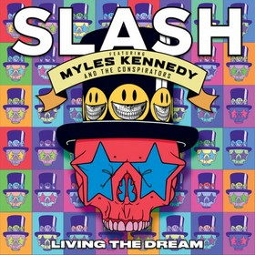 <i>Living the Dream</i> (Slash album) 2018 studio album by Slash featuring, Myles Kennedy and the Conspirators