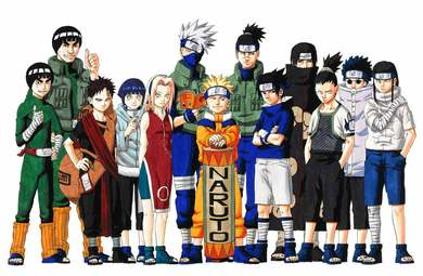 List of Naruto characters - Wikipedia