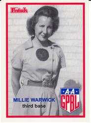 Mildred Warwick All-American Girls Professional Baseball League player