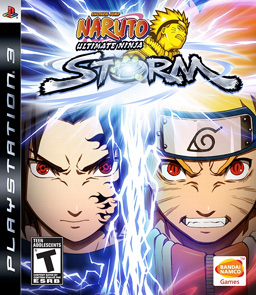 naruto ultimate ninja storm cover