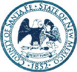 Seal of Santa Fe County, New Mexico