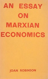 An Essay on Marxian Economics, first edition.jpg
