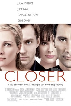 Closer (2004) movie poster