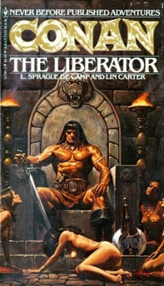 Frank Frazetta art that was inspiration for the movie Conan_the_Liberator