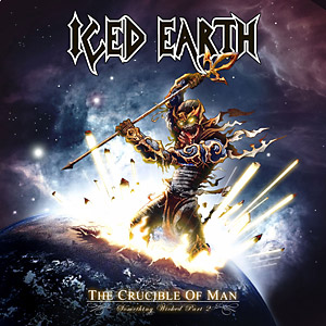<i>The Crucible of Man: Something Wicked Part 2</i> 2008 studio album by Iced Earth