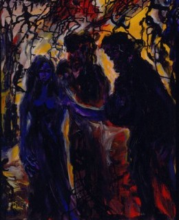 Faust: Encounter with Margaret, one of the paintings in the series