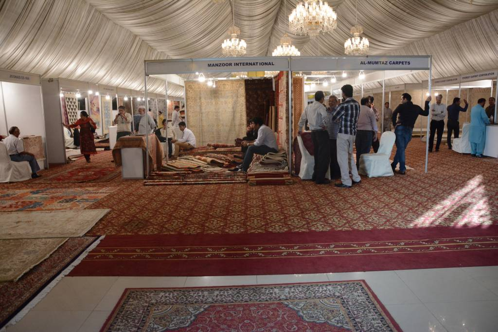 Pakistan Carpet Manufacturers and Exporters Association #0: PCMEA Annual Carpet Exhibition in Lahore, Pakistan on 14 17 October 2014