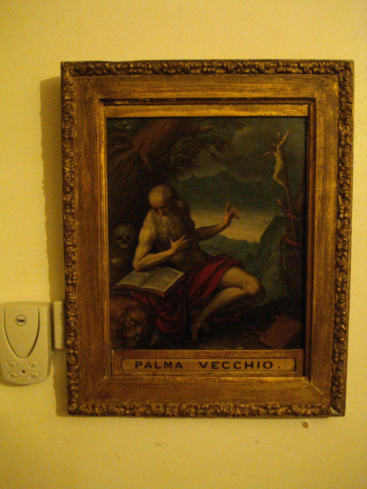 St Jerome by Palma il Vecchio c.1512-1520 Private Collection