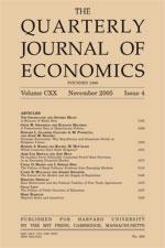 <i>Quarterly Journal of Economics</i> journal