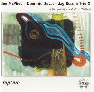 <i>Rapture</i> (Trio X album) 1999 live album by Trio X