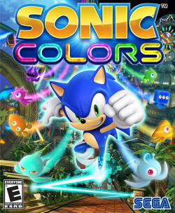 Sonic Colors DS Boxart