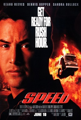 speed 1994 movie poster