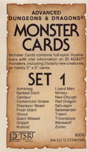 graphic relating to Printable Monster Cards 5e named Monster Playing cards - Wikipedia