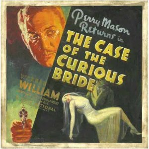 <i>The Case of the Curious Bride</i> 1935 film by Michael Curtiz