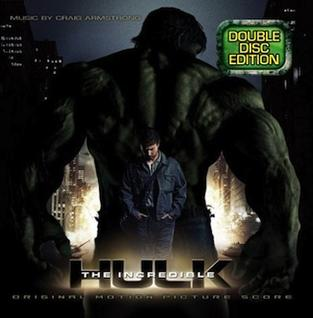 <i>The Incredible Hulk</i> (soundtrack) 2008 film score by Craig Armstrong