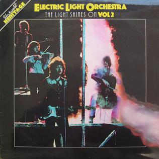 <i>The Light Shines On Vol 2</i> 1979 greatest hits album by Electric Light Orchestra