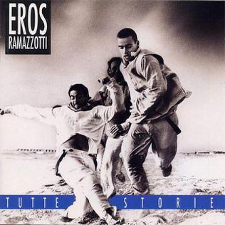 <i>Tutte storie</i> 1993 studio album by Eros Ramazzotti