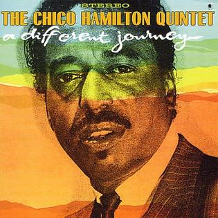 <i>A Different Journey</i> 1963 studio album by Chico Hamilton Quintet
