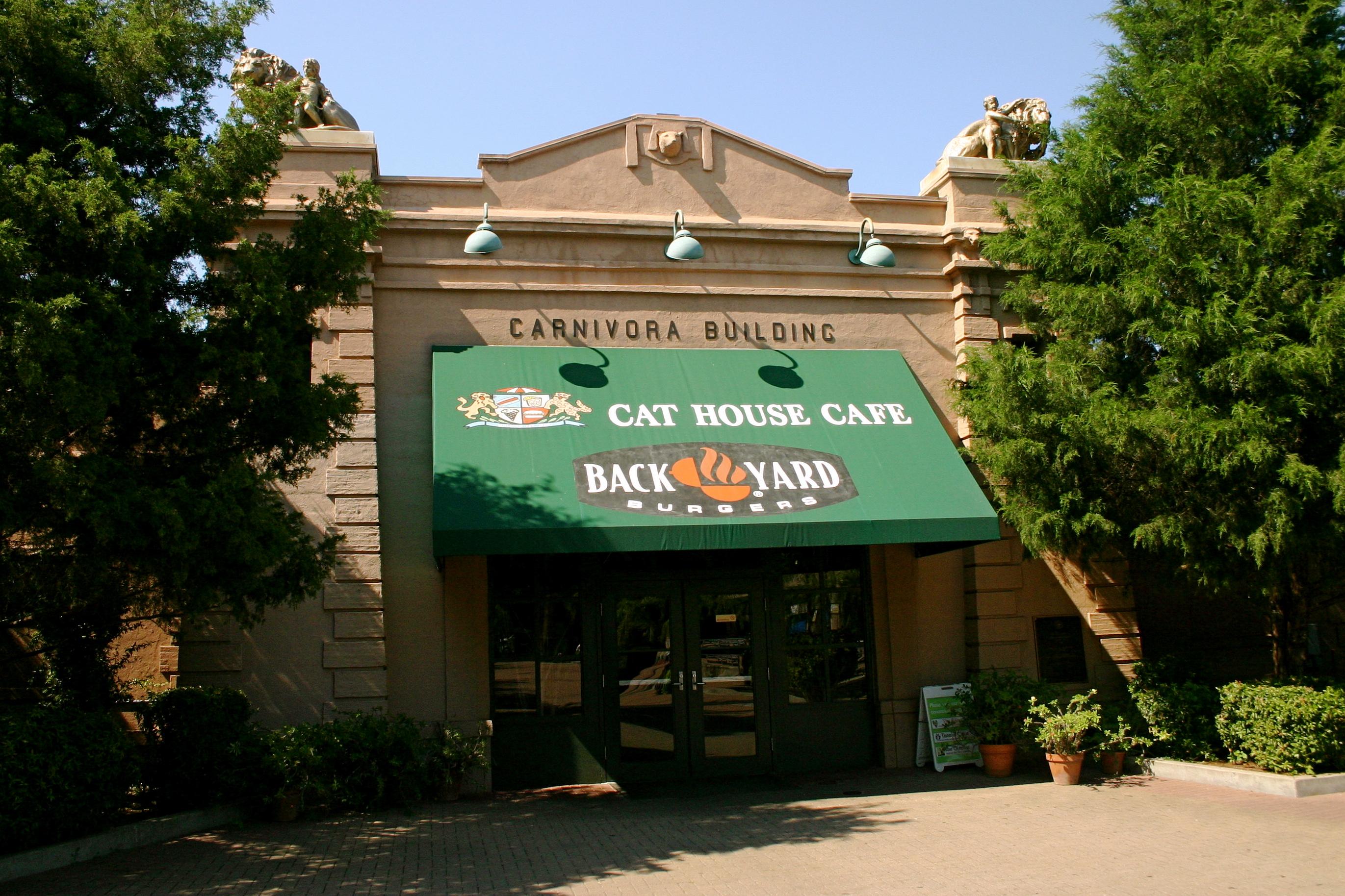 Cat House Cafe Memphis Zoo