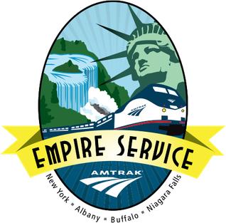 <i>Empire Service</i> Amtrak train service in New York