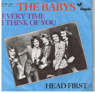 Every Time I Think of You single by The Babys