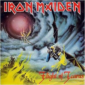 翻唱歌曲的图像 Flight of Icarus 由 Iron Maiden