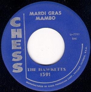 Mardi Gras Mambo single