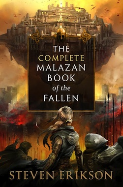 Picture of a book: Malazan Book Of The Fallen