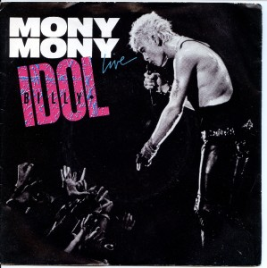Image result for billy idol mony mony