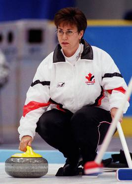 Sandra Schmirler at the 1998 Winter Olympics