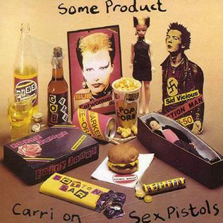 Some Product Carri on Sex Pistols artwork