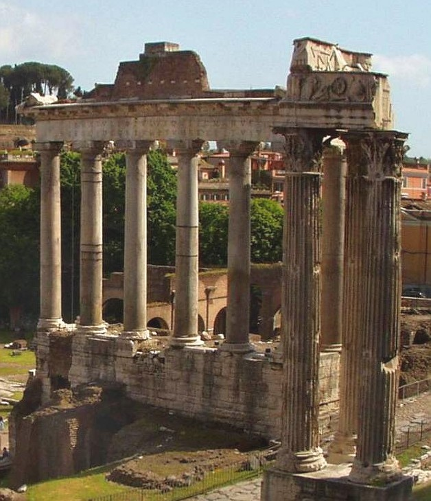 File Temple Of Saturn Forum Romanum Jpg Wikipedia