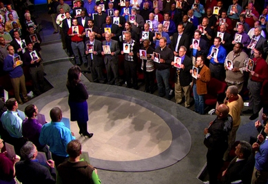 Two hundred men who were molested stand together during a 2010 episode 200 Men, The Oprah Winfrey Show, 2010.jpg